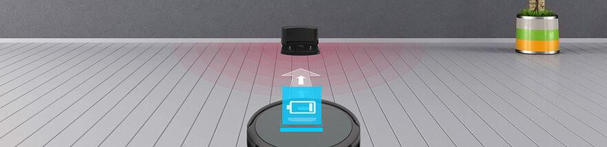 ILIFE A4S robotporszívó akkutöltés