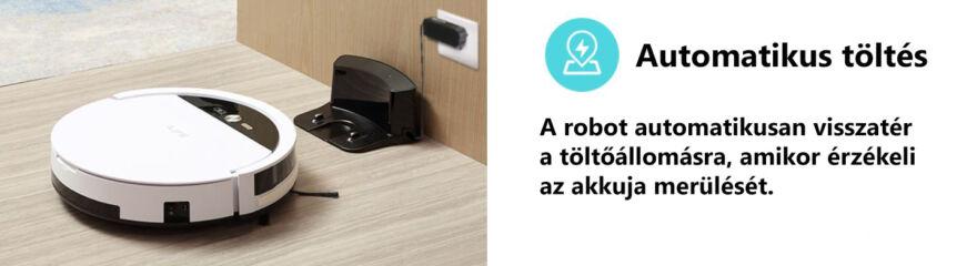 ILIFE V4 robotporszívó töltés