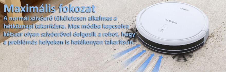 Ecovacs Deebot N79T robotporszívó