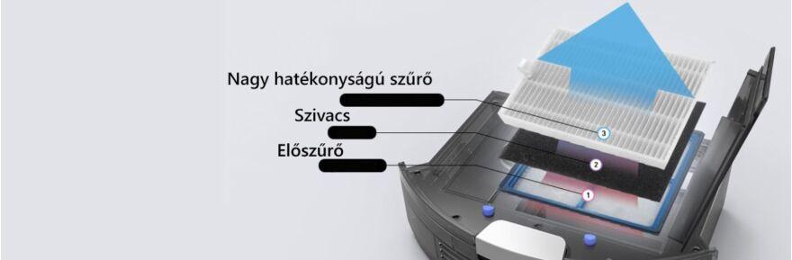 ILIFE V8 porszívó és feltörlőrobot