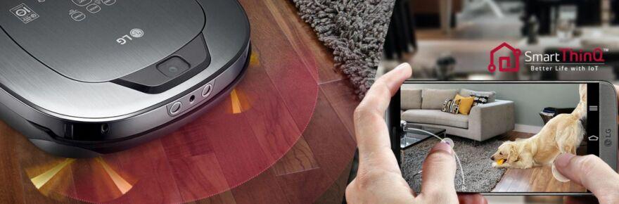 LG Home Care+ robotporszívó