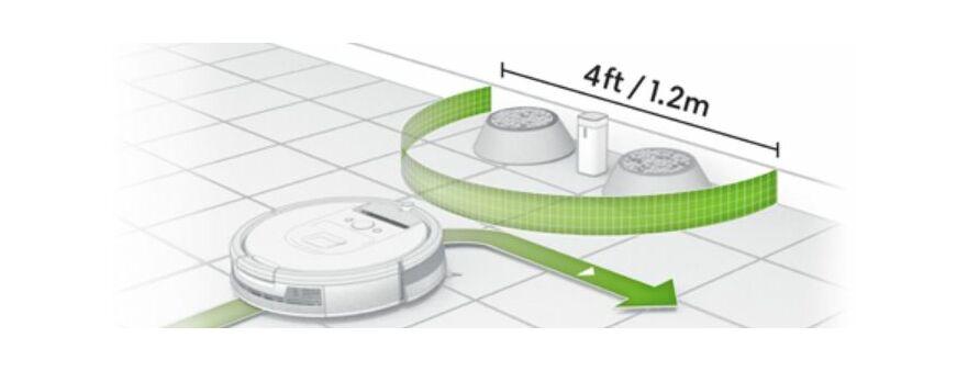 iRobot Roomba virtuális fal